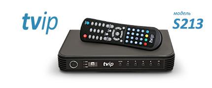 Внешний вид приставки TVIP S213